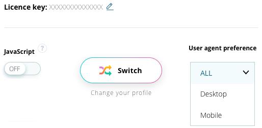 User Agent Switcher – Google Chrome Plugin