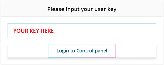 Proxy Panel with One Key Access